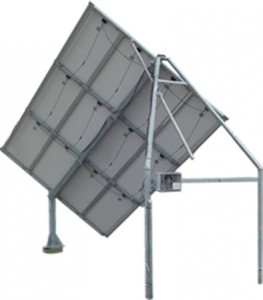 Solar Tracker SM12SLT with backstructure for 12 panels (2,16 kWp)