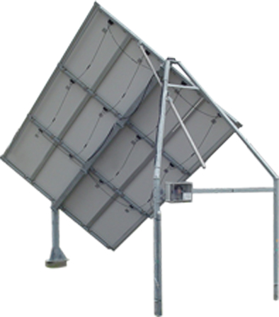 Solar Tracker Sm12slt With Backstructure For 12 Panels 2